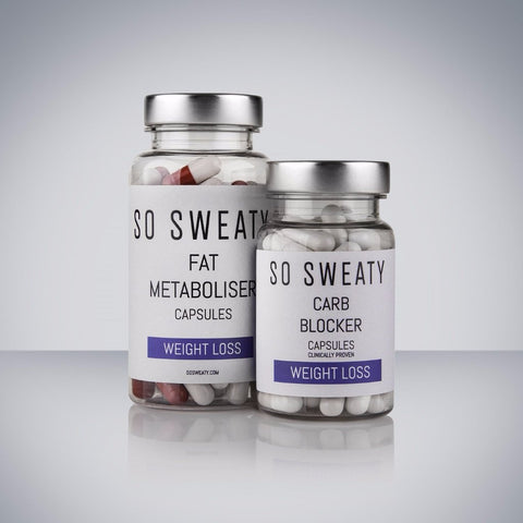 Weight Loss Pack - Fat Metabolisers & Carb Blockers SO SWEATY