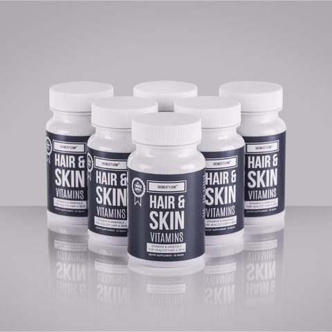 Hair and Skin Vitamins - 6 Month Pack SO SWEATY