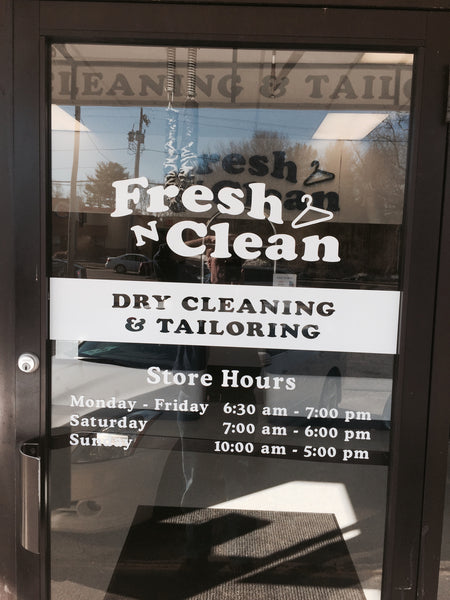 Turn Key Drop Stores and Dry Cleaning Plants
