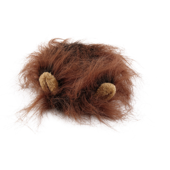 Brown Lion Mane and Ears Cat Costume