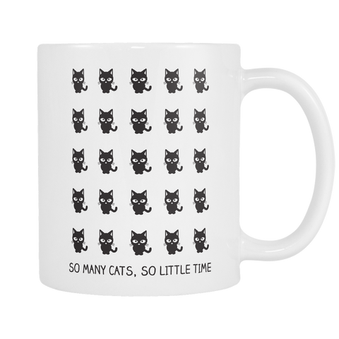 So Many Cats Mug