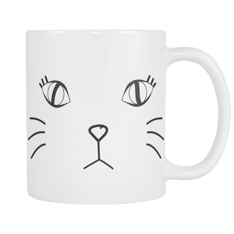 Kitty Face Cat Mug