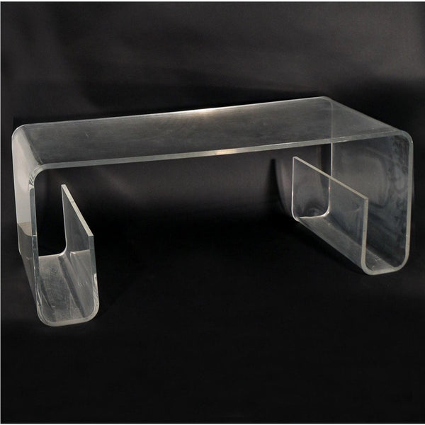 1970's Lucite Coffee Table - Charles Hollis Jones Style - The Posh Shop
