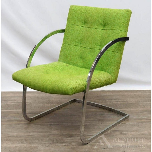 1980's Milo Baughman Lounge Chair - The Posh Shop