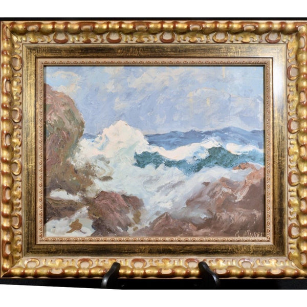 19th C. American Seascape Painting - The Posh Shop