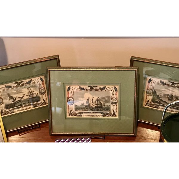 Antique American Engravings - The Posh Shop