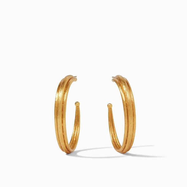 Barcelona Hoop Earring - Large - The Posh Shop