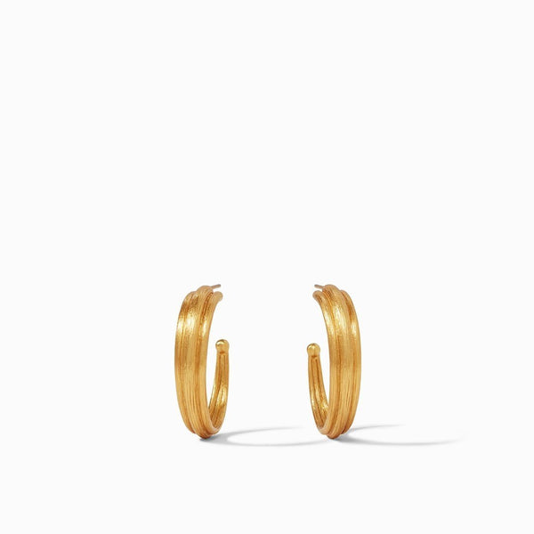Barcelona Hoop Earring - Medium - The Posh Shop