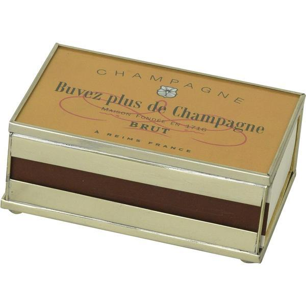 Champagne Brut Glass Matchbooks - The Posh Shop