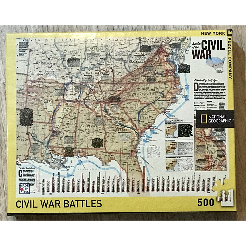 Civil War Battle Puzzle - POSH