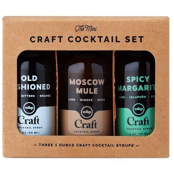Cocktail Syrup Mini 3-Pack - The Posh Shop