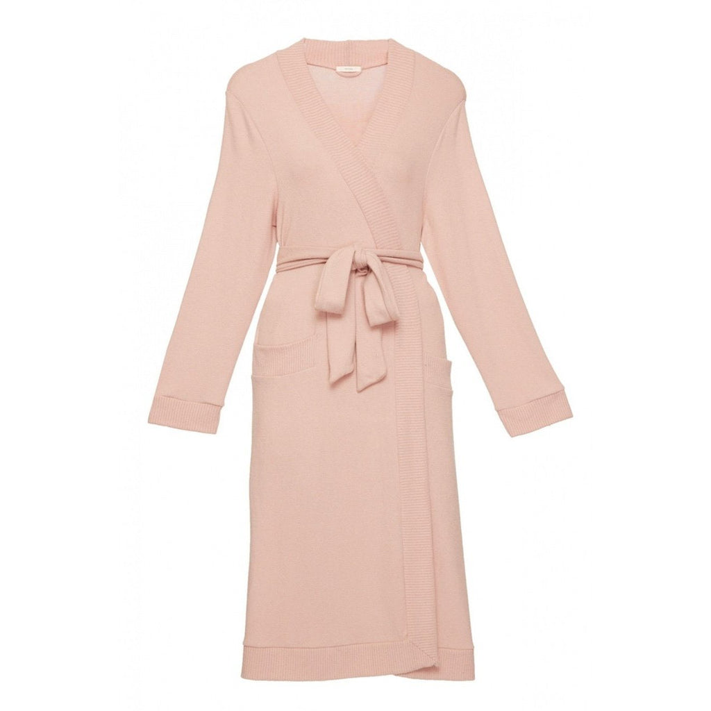 Cozy Time Cozy Robe - SMALL - MISTY ROSE - The Posh Shop
