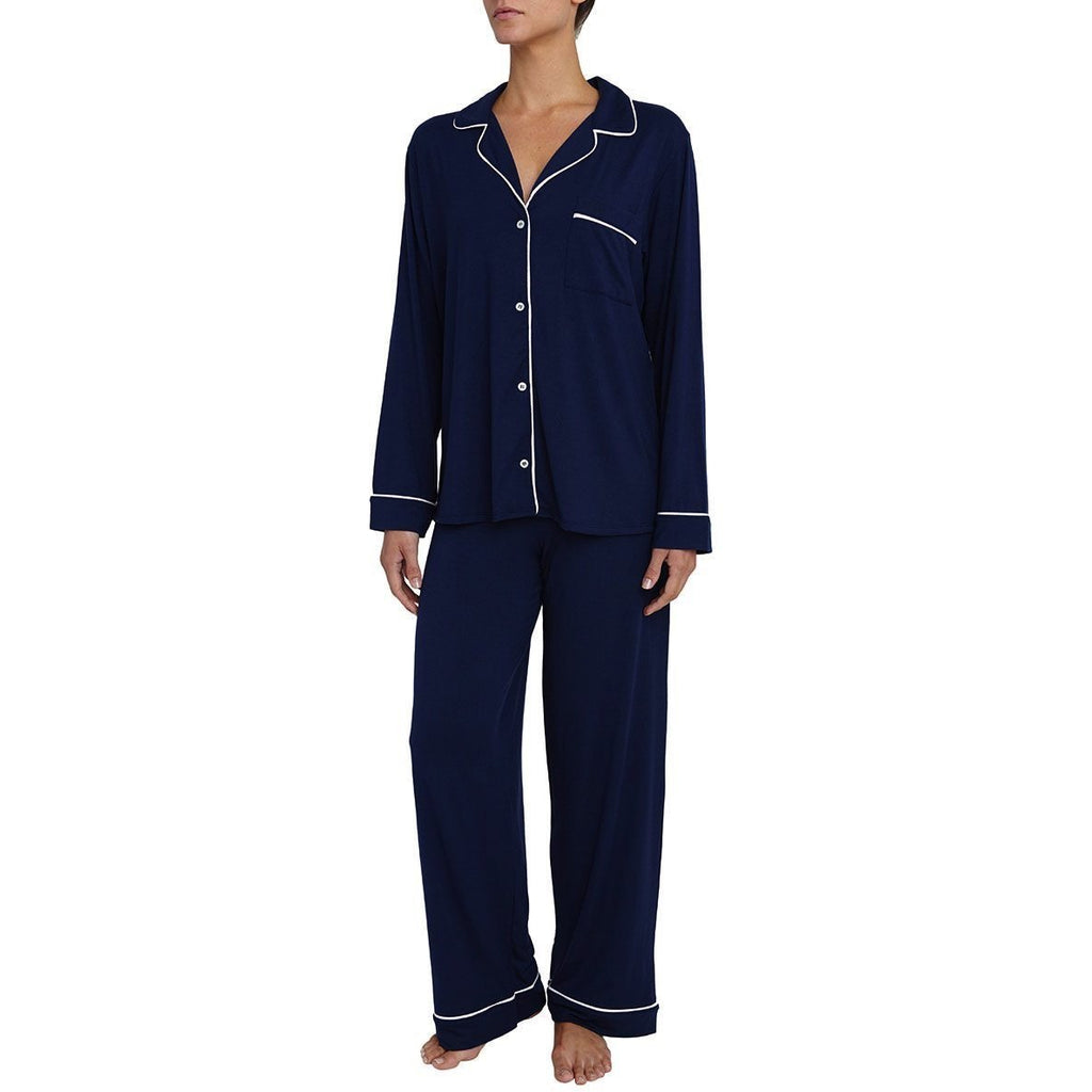 Eberjey - GISELE PJ'S - Navy & White MEDIUM - POSH