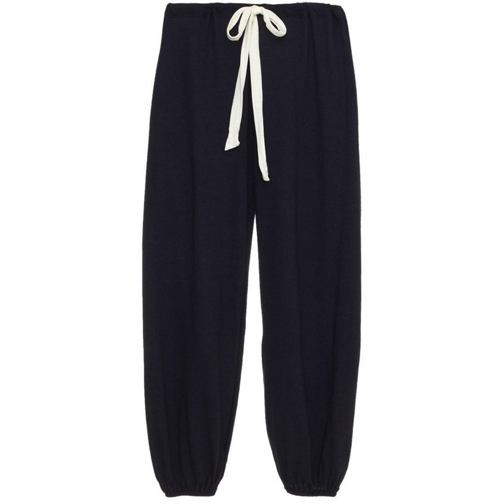 Eberjey Heather Cropped Lounge Pant - Deep Sea SMALL - The Posh Shop