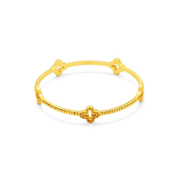 Florentine Bangle - Medium - The Posh Shop