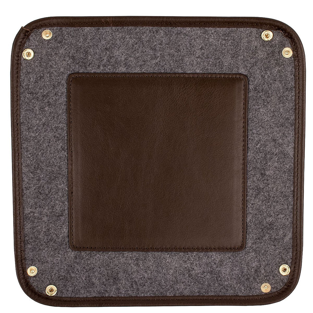 Henry Valet Tray - Coffee - The Posh Shop