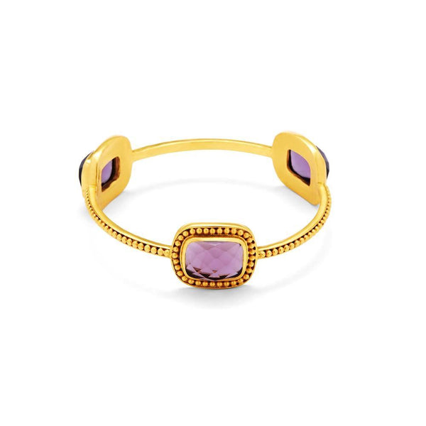 Luxor Bangle - Amethyst Purple - The Posh Shop