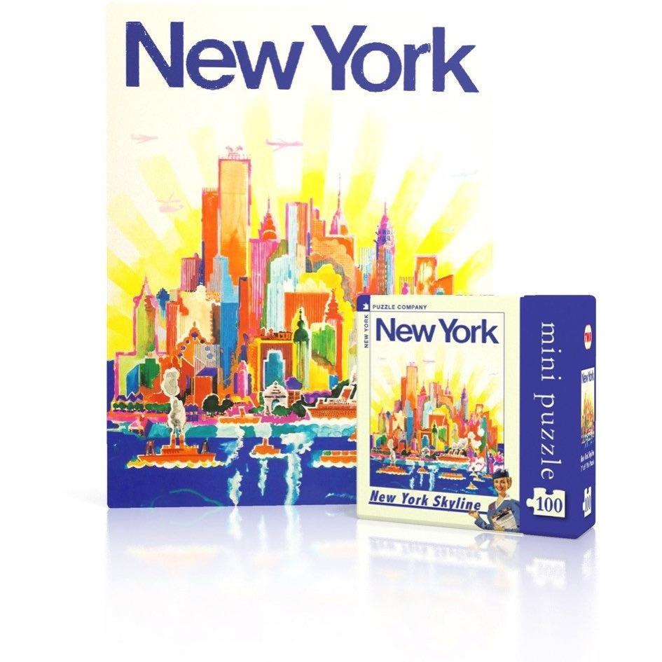 New Yorker Mini Puzzle - NYC Skyline - POSH