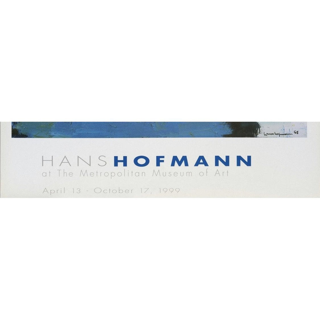 Original Hans Hoffman Exhibition Poster 1999 - The Posh Shop