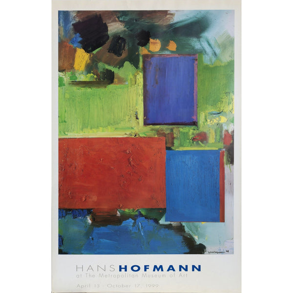 Original Hans Hoffman Exhibition Poster 1999 - POSH