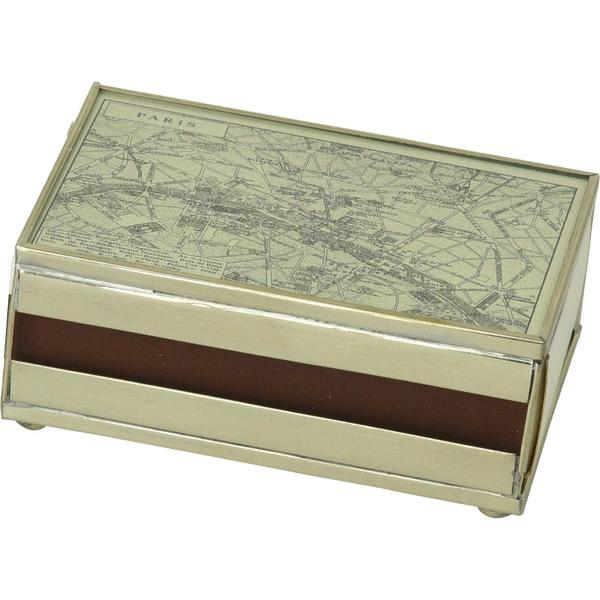 PARIS Map Glass Matchbook Cover - The Posh Shop