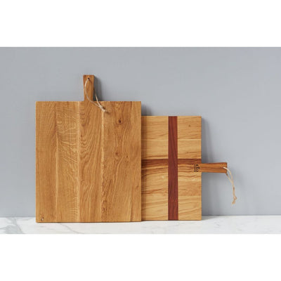 Rectangle Oak Charcuterie Board  Medium - The Posh Shop