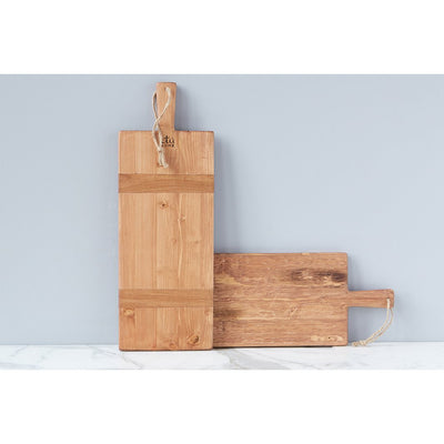 Rectangle Pine Charcuterie Board SMALL - The Posh Shop
