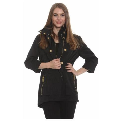 The TESS Anorak - Black SMALL - The Posh Shop