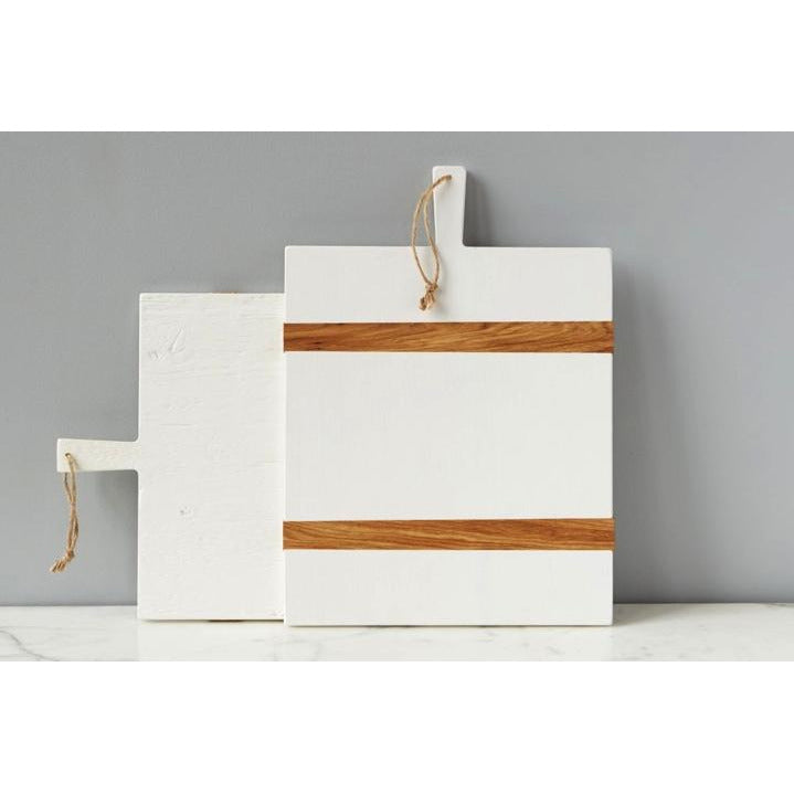 WHITE Rectangle Mod Charcuterie Board - DROP SHIP ONLY - POSH