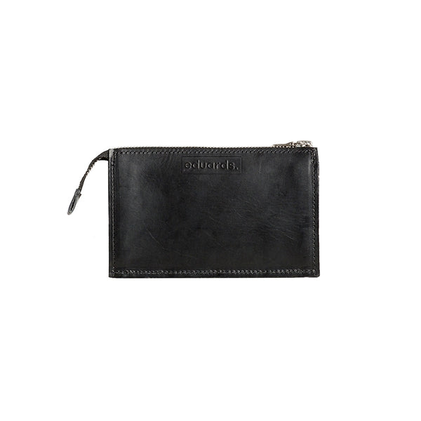 EDUARDS ACCESSORIES | Näver Wallet in Black Leather