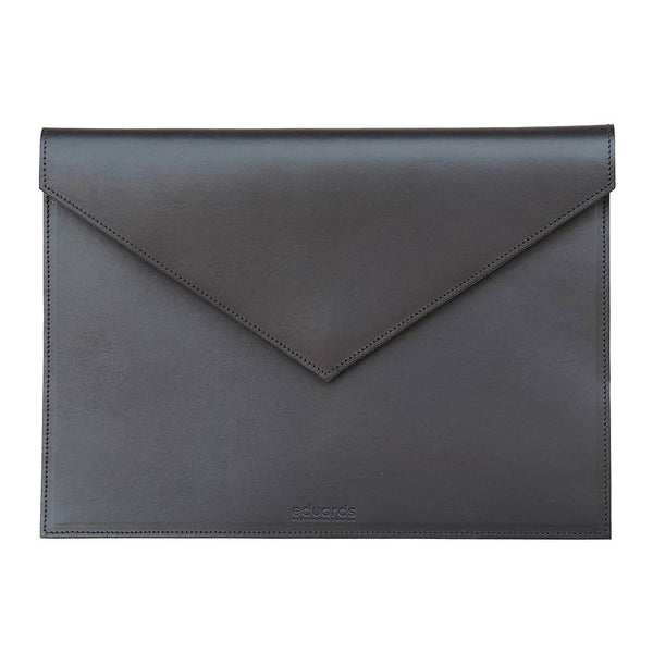 EDUARDS ACCESSORIES | BJÖRK KUVERT IN BLACK LEATHER