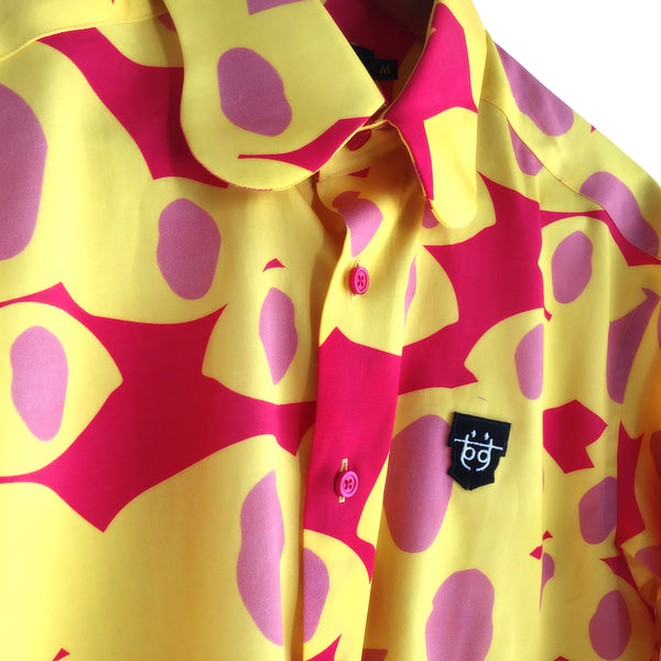 AME SHIRT | SPRING ALLERGY FUSCHIA