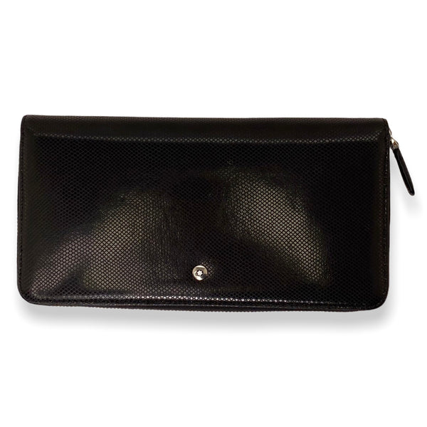 Montblanc Meisterstruck zipped long wallet