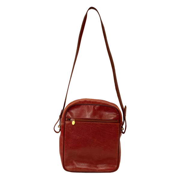 Must de Cartier vintage burgundy messenger crossbody