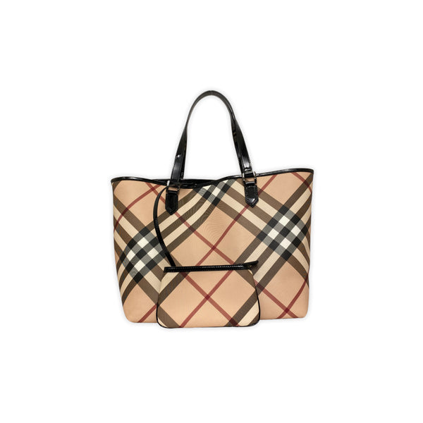 BURBERRY nova nickie tote