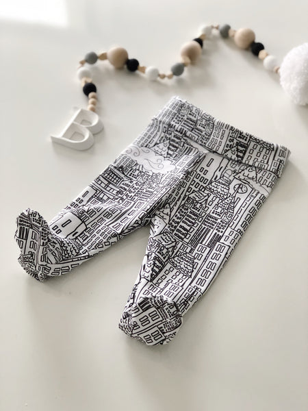 City Newborn Leggings