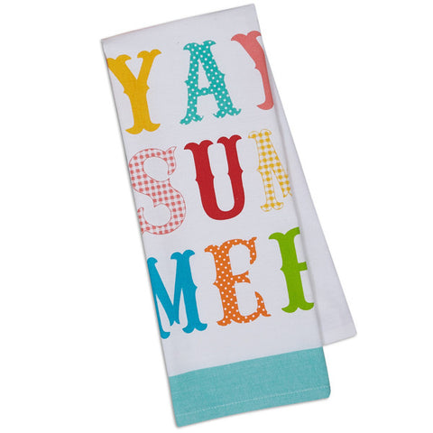 Summer Dish Towel