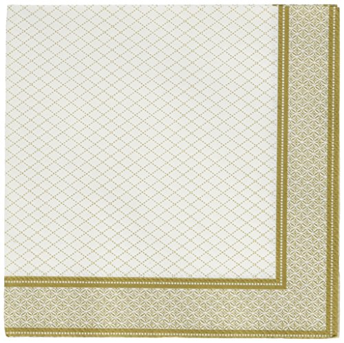 Gold Porcelain Paper Luncheon Napkins
