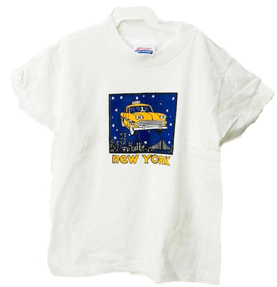 New York City Yellow Taxi Kid's Tee Shirt XS 2-4T