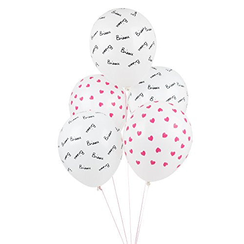 Bisou and Hearts Balloons