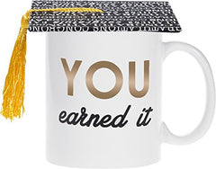 """You Earned It"" Graduation Mug"