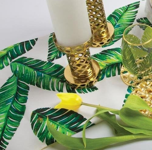 Banana Leaf Design Table Runner