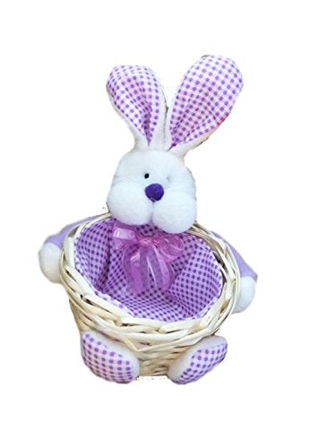 Gingham Bunny Basket