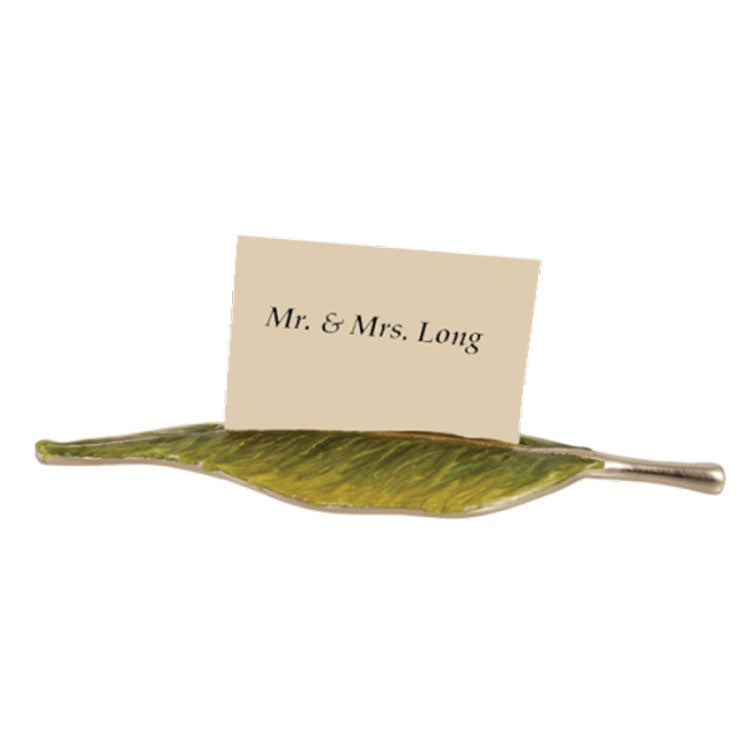 Quest Collection Leaf Place Card Holders Set of 4