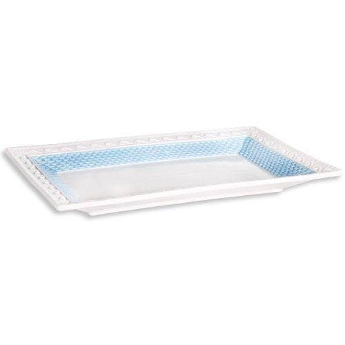 Ocean Waves Blue Serving  Tray