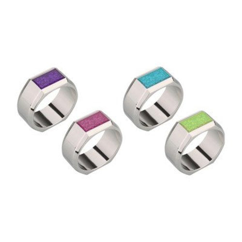 Sparkle Color Napkin Rings (Set of 4)