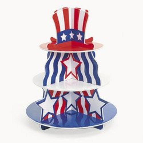 Patriotic Hat Cupcake Holder