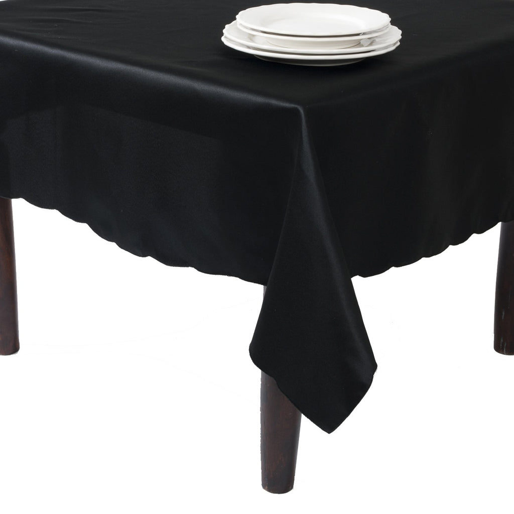 Satin Like Rectangular Tablecloth  104 x 64 inches