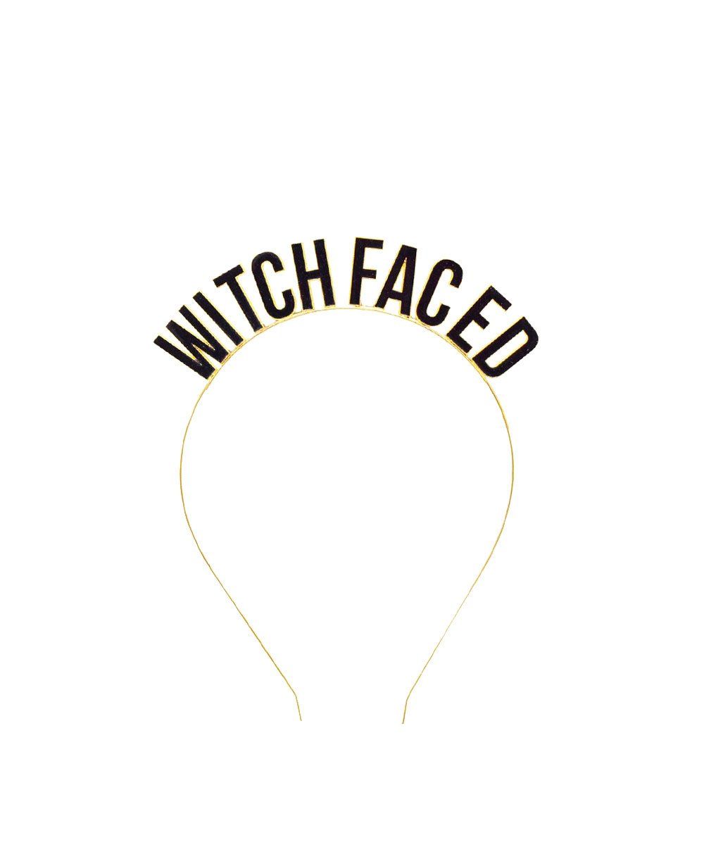 Slant Witch Faced Headband
