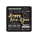 New Year's Eve Expressions Paper Dessert Plates